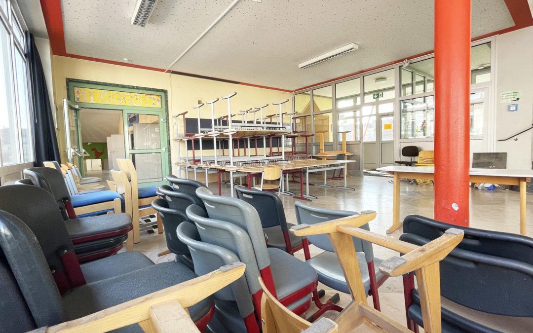 Schulmöbelaktion des Fördervereins angelaufen